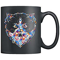 Himalayan Cat Coffee Mug Ceramic - Himalayan Cat Colorful Mugs, Black Mug, Tea Cup 11oz A Little Gift For Friends