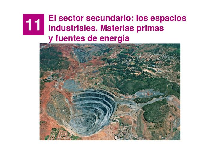 Tema 6 La industria by Manuel Pimienta via slideshare