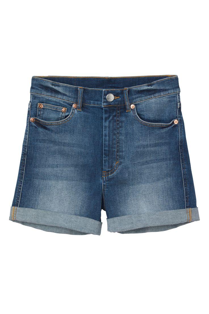 Monki | Destination summer! | Lanelle denim shorts
