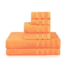 Brand:Promic Material:100% Cotton Weight: 500GSM Towel Sets:2 Bath towels,2 Hand towels, 2 washcloths Color:Orange Dimension: Bath Towels measure 27 by 55 inches Hand Towels measure 13 by 27 inches Washcloths measure 13 by 13 inches Features: 1.Each set comes with 2 Bath towels (27 inches x 55 inches), 2 Hand towels (13 inches x 27 […]