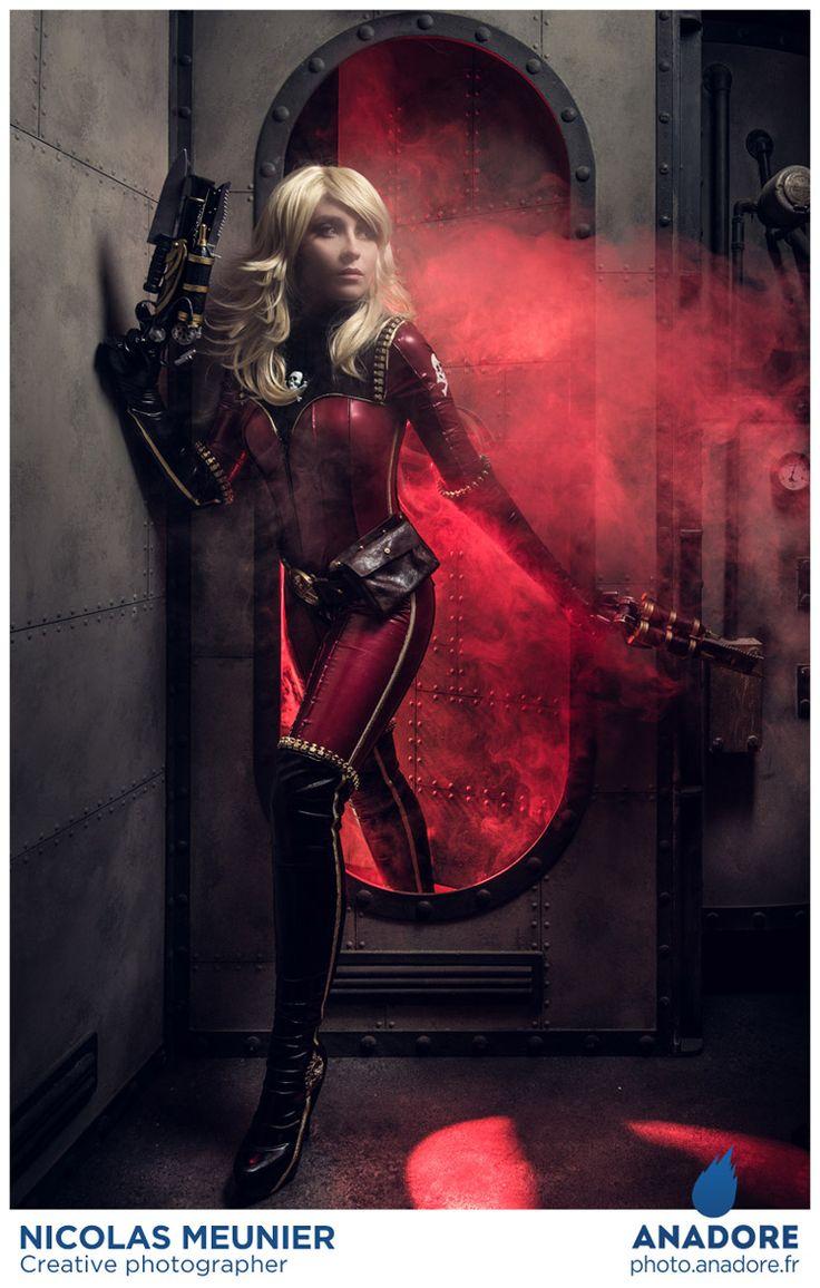 Shooting Albator - Anadore Photographie Cosplay de Kei Yûki par Nikita Cosplay. http://photo.anadore.fr/
