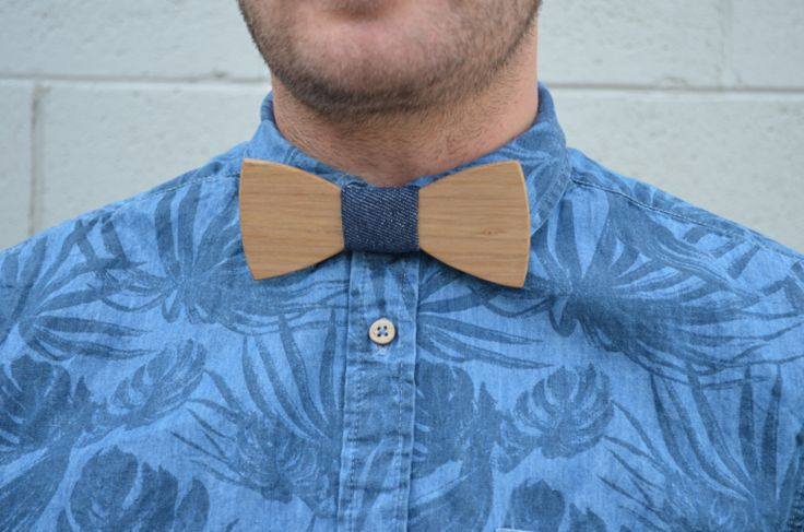 SUMMER STYLE WITH A SHORT SLEEVE FLORAL SHIRT AND WOODEN BOW TIE www.peggyandfinn.com.au