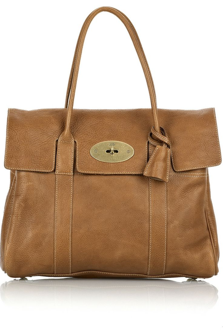 Somebody needs to make an affordable knockoff of this Mulberry Bayswater leather bag