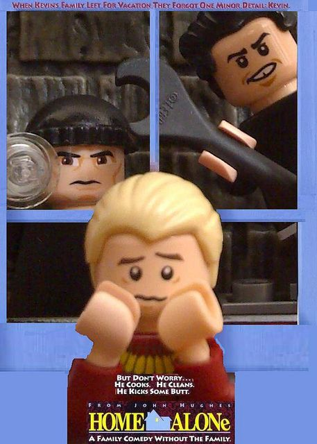 Lego home alone poster | Flickr - Photo Sharing!