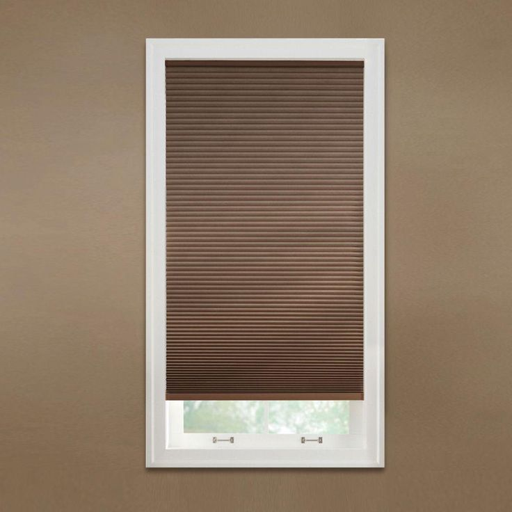 Home Decorators Collection Mocha Cordless Blackout Cellular Shade 72 In W X 72 In L 10793478632114 The Home Depot Blackout Cellular Shades Cellular Shades Home Decorators Collection