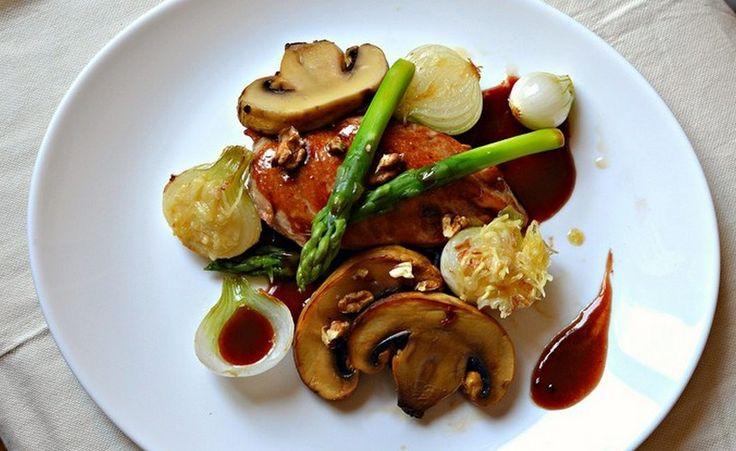17 best images about recettes gastronomiques on pinterest filet mignon cuisine and dressage - Filet de poulet grille recette ...