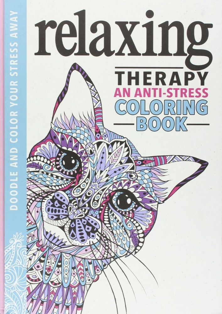 Relaxing Therapy : An Anti-Stress Coloring Book By Hannah Davies And  Running... #affilink Coloring Books, Anti Stress Coloring Book, Art Therapy  Coloring Book