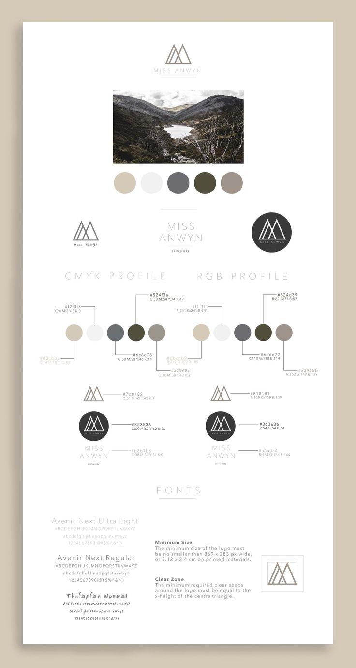 Brand Identity for Miss Anwyn - Designed by Anwyn Howarth