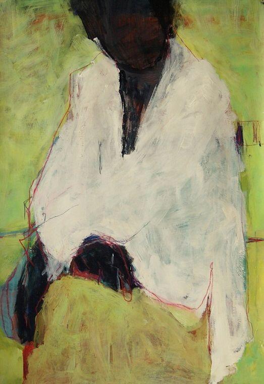 "Barbara Kroll, ""Le"", acrylic on cardboard, 70 x 100cm | Art ..."