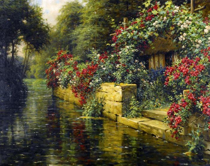 Натуральная красота от художника-пейзажиста Луис Астон Найта (Louis Aston Knight). Обсуждение на LiveInternet - Российский Сервис Онлайн-Дневников