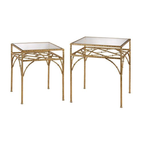 Bamboo Shelf Stacking Tables - 3200-039/S2