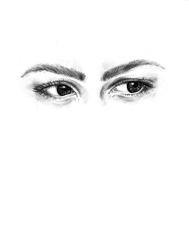 Realistic Representation of the side eye Emoji
