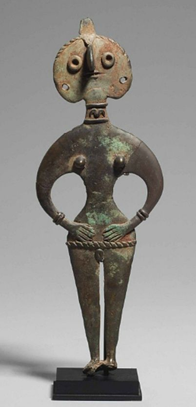Canaanite fertility goddess sells for $242,500 | Ethnic Jewels Magazine  The Ancient Levant covered southwestern Syria, the west of Jordan, and modern-day Lebanon, Palestine, and Israel. Ancient Semitic religions were polytheistic and centered upon a cult of mother goddesses. The Canaanite fertility goddess in Syria-Palestine was Astarte, consort to Baal, the rain god.