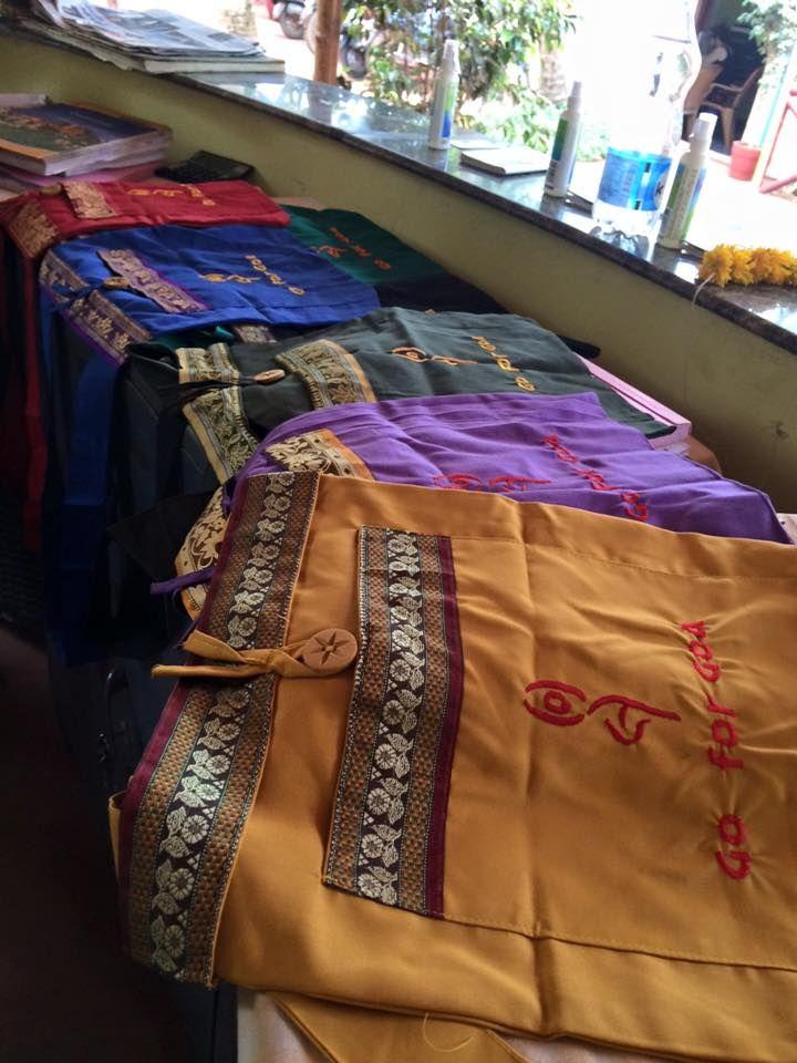 skønne tasker til alle deltagere i Goforgoa
