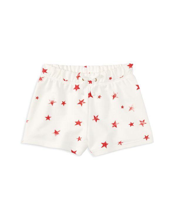 Ralph Lauren Childrenswear Girls' Star Print French Terry Shorts - Sizes 2-6X