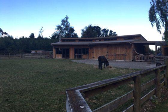 Spacious Country Barn - The Coaching Inn in Geraldine, Timaru District | Bookabach