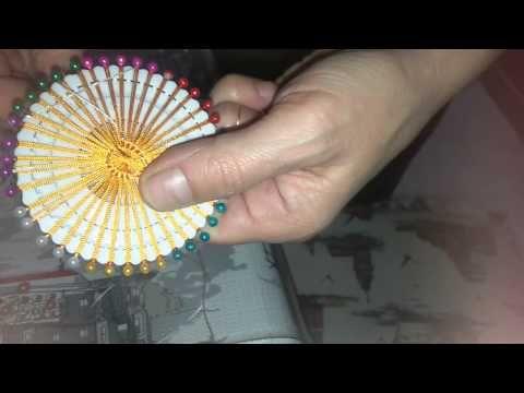 İğne Aparatından Motif Yapımı Tarifi Ve Çeşitli Motif Örnekleri - YouTube