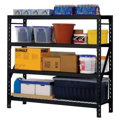 17 best ideas about garage shelving units on pinterest. Black Bedroom Furniture Sets. Home Design Ideas