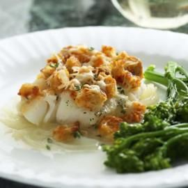 Baked Cod Casserole #eatingwell