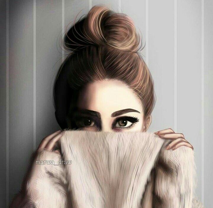 Pin By Noor Ul Ain On Dolls And Art Girly M Cute Cartoon Girl Cute Girl Drawing
