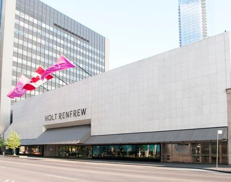Toronto - Holt Renfrew on Bloor