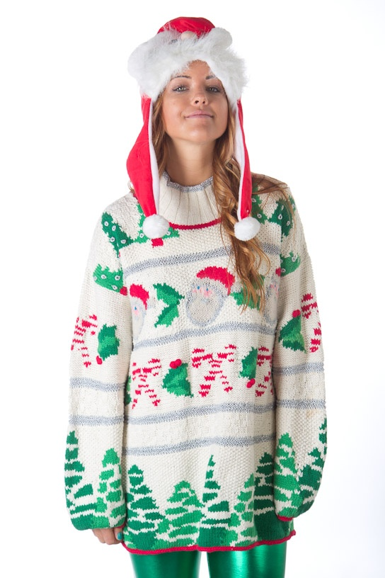 Ugliest ugly Christmas sweater from TheSweaterStore.com