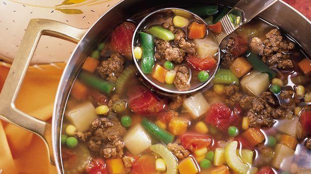 Family Hamburger Soup