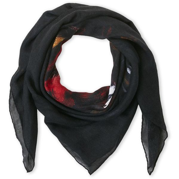 Givenchy Rottweiler Cashmere Scarf ($220) ❤ liked on Polyvore featuring men's fashion, men's accessories, men's scarves, white, mens cashmere scarves and mens scarves