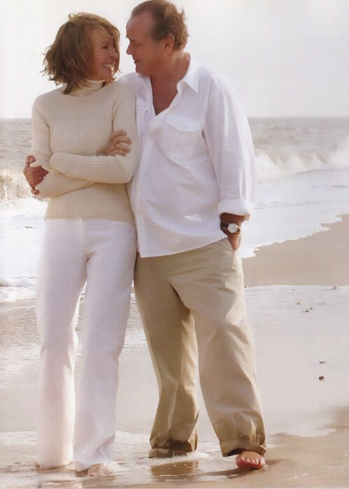 Jack Nicholson and Diane Keaton, Something's Gotta Give. One of my favorite movies!