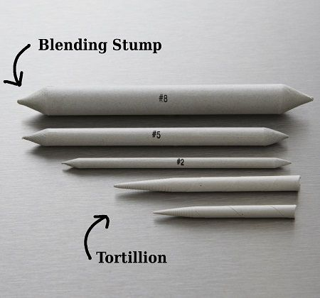 how to use a blending stump