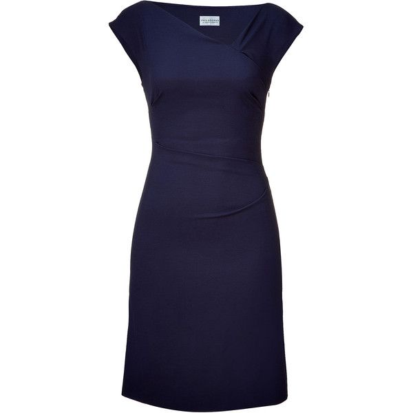 Navy Cap Sleeve Dress.. I wish I didn't have such expensive taste :(