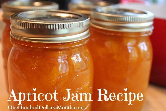 Apricot Jam Recipe - The best stuff ever!! This was very easy to make, I did however reduce the sugar by 1 cup and I'm thinking I could probably reduce it again. Very easy though and very very good.