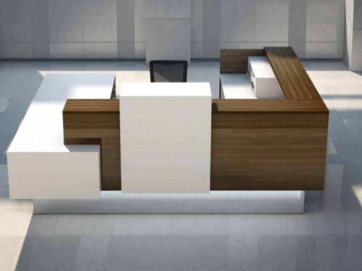 Les 25 meilleures id es de la cat gorie comptoir de for Meuble bureau petit espace