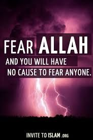 Image result for fear allah quran