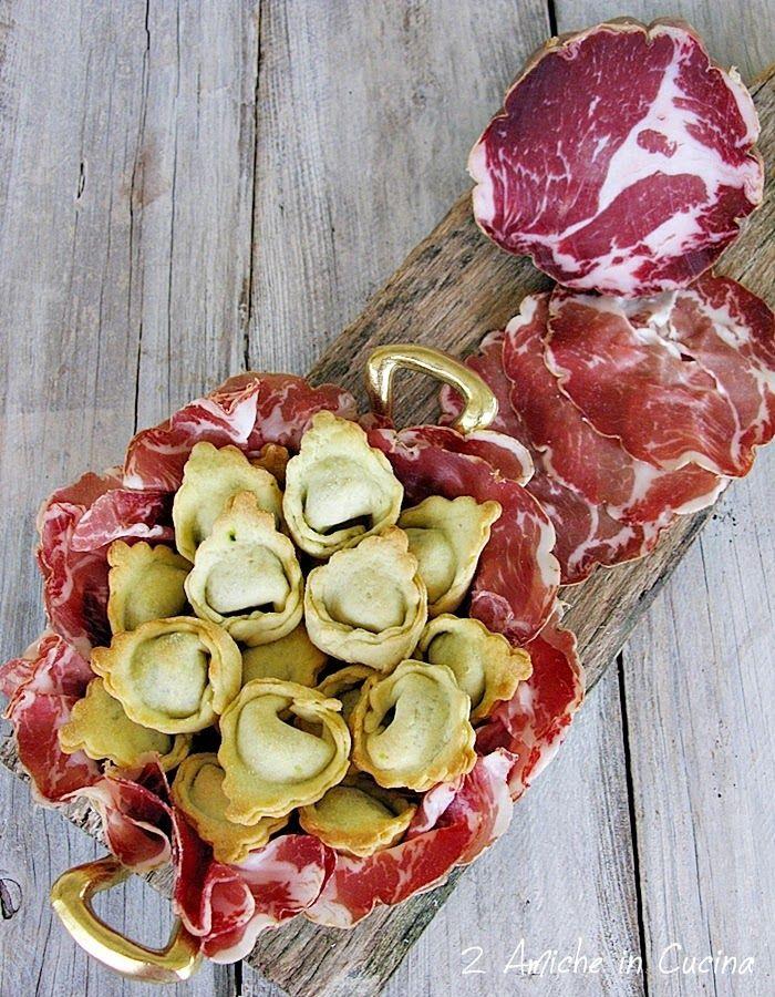 Tortellini Rustici con Cavolo Nero e Coppa Piacentina D.O.P | 2 Amiche in Cucina