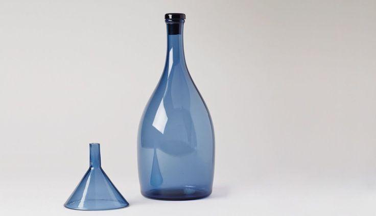 Kazumi Tsuji of Factory Zoomer - Reclaimed Blue Bottle