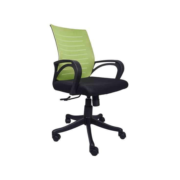 """THE VERDE GREEN AND BLACK TASK CHAIR"" Office Furniture 