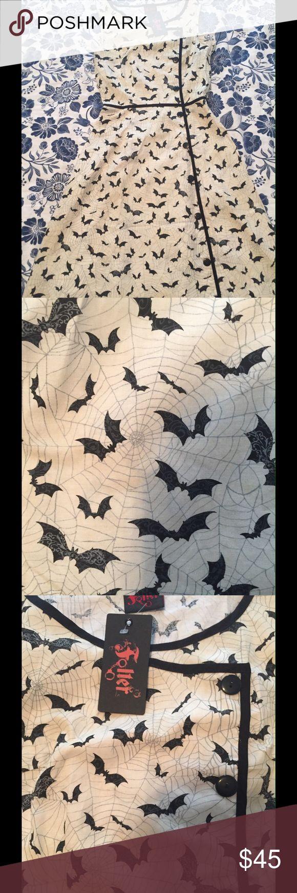 Spotted while shopping on Poshmark: Folter Bat Dress, size small! #poshmark #fashion #shopping #style #ModCloth #Dresses & Skirts