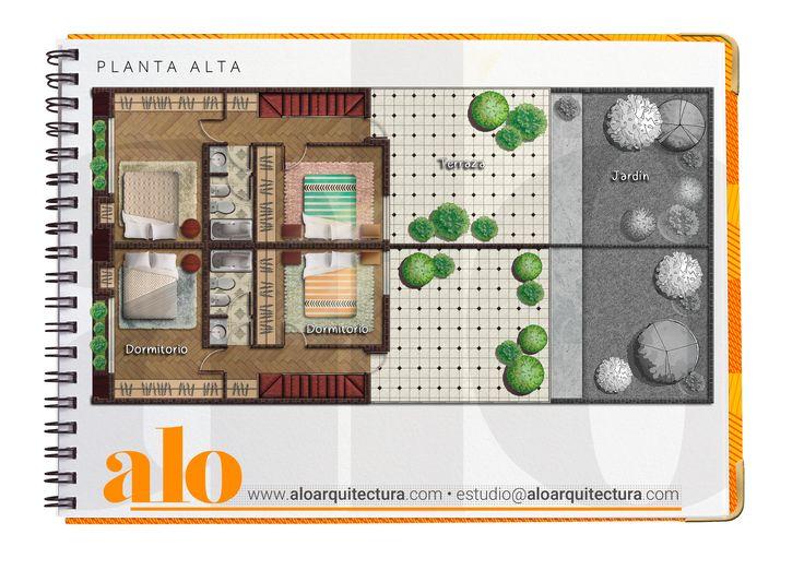 ALO Estudio de ARQUITECTURA • « Proyectos Arquitectónicos & Diseño Gráfico » Plantas Humanizadas • Contacto: estudio@aloarquitectura.com • WEB: www.aloarquitectura.com • Camila Juan - Arquitecta.