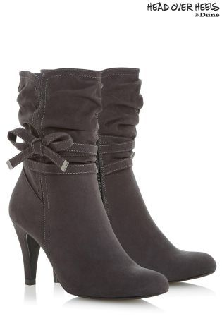 Buy Head Over Heels Side Bow Calf Boots from the Next UK online shop