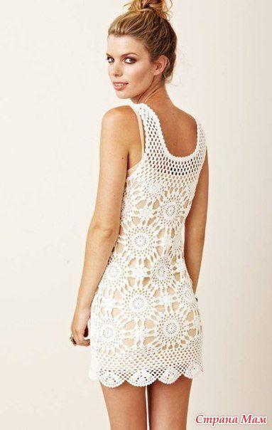 Bязаное платье Eternal Sunshine Creations.