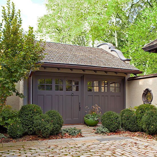 Garage Door Landscaping Ideas: 69 Best Cool Garage Doors Images On Pinterest
