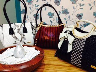 Beautiful Sparkling New Handbags! #thecrystalslipper