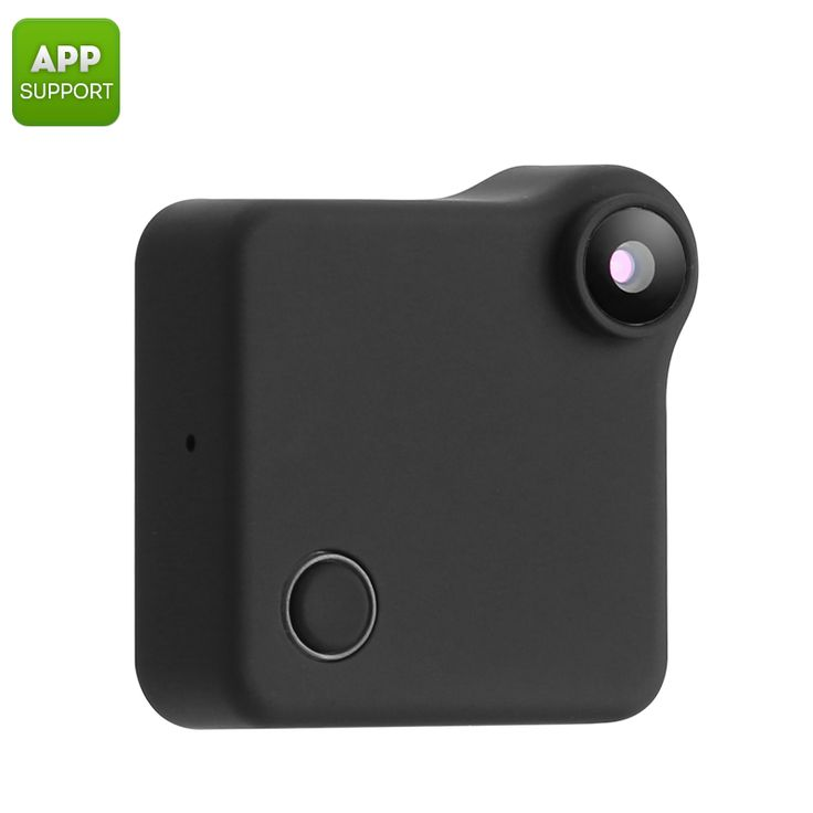 Wearable Mini WiFi Camera - 720p Resolution - Motion Detection - Pick Pay Post