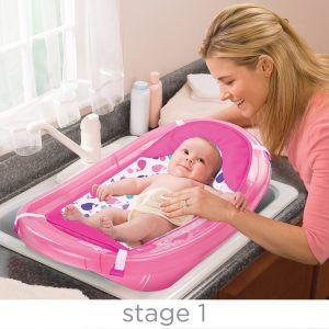 Newborn Baby Bath Tub Images