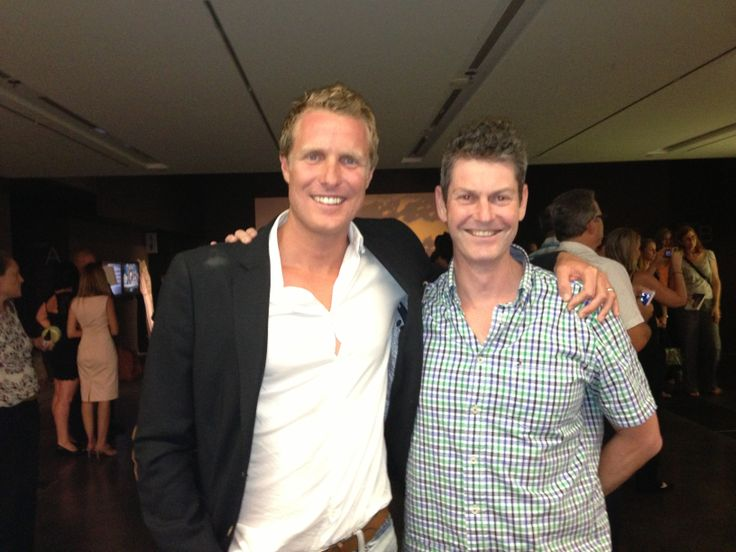 James Colquhoun (producer of Food Matters and Hungry for Change) Health Celebrities with Cameron Corish.