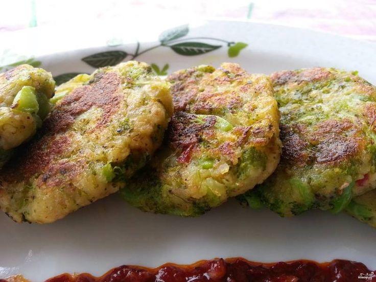 Котлеты из брокколи постные - пошаговый рецепт с фото на Повар.ру