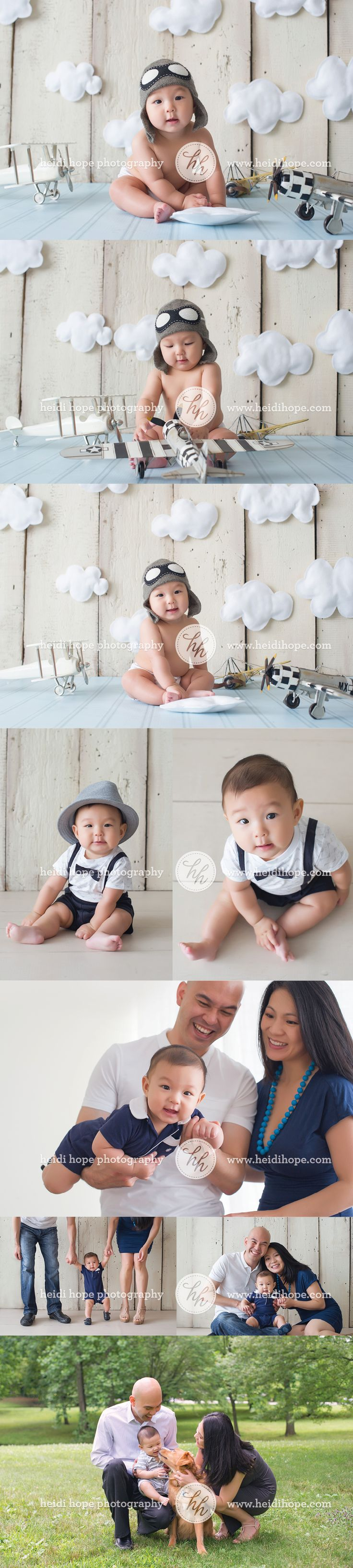 Baby aviator photo set - I know you'd love this for our baby! :)
