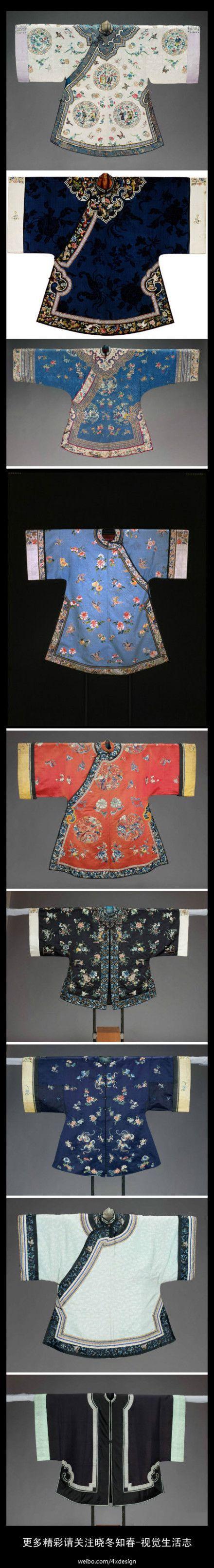 El encanto de China ----- ropa de la dinastía Qing es básicamente la Qing, de hecho, ahora muy lejos de nosotros.  Más por favor, preste atención a
