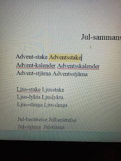Lotsen/Vilboken: Jultema- AppWriter-tips